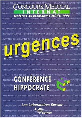 Livre Hippocrate : urgences pdf, epub