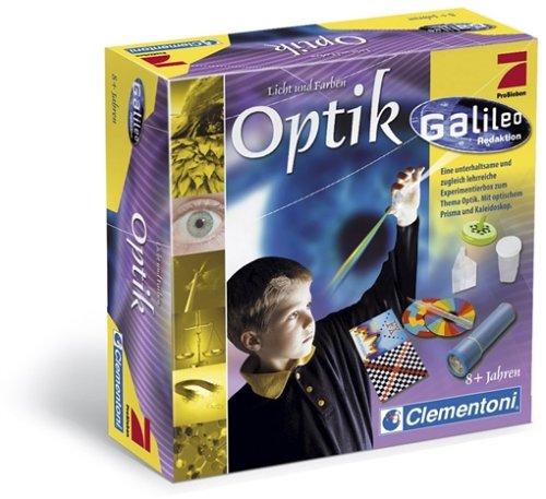 Clementoni  - Galileo Licht und Farben Experimentierbox Optik