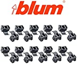 Blum 38C315B3 Blumotion 86 Degree Angle Restriction Hinge Clip, Nylon (Pack of 20)