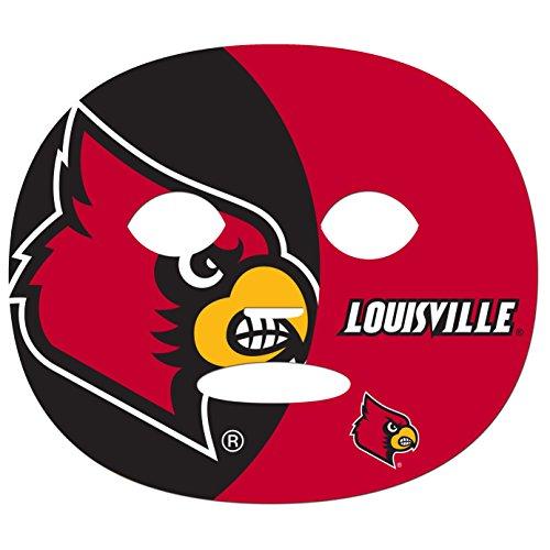 NCAA Louisville Cardinals Game Day Face Tattoo (4