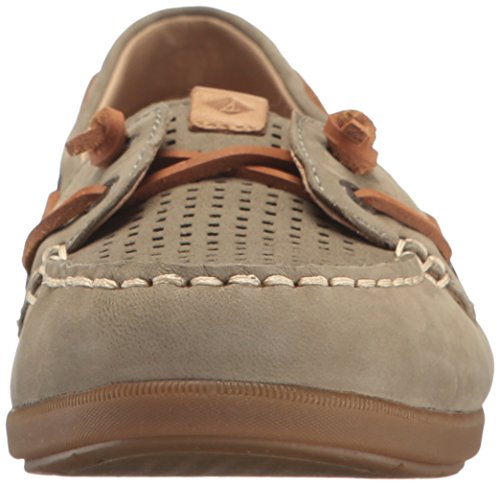 Sperry Top-Sider Womens Coil Ivy Perf Boat Shoe Olive