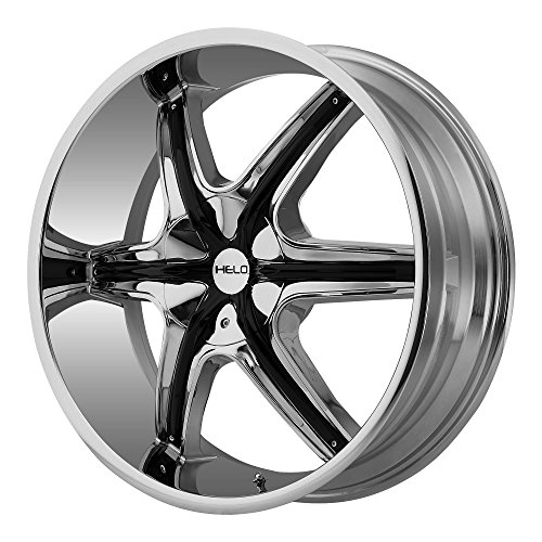 "Helo HE89128566235 20"" HE891 Wheel Rim - Chrome 20x8.5 6x135"