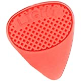 Fred Kelly Picks D4G-L-12 Delrin Standard Grip Flat Light Guitar Pick
