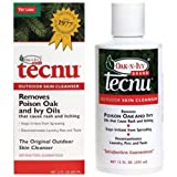 Swift First Aid 12 Ounce Bottle Tecnu Poison Oak & Ivy Cleanser. Purchase of 4