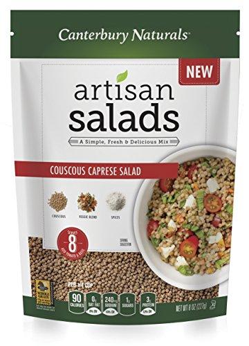 Couscous Caprese Salad