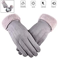 Touch Screen Gloves for Women Winter Warm Texting Gloves
