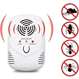 RundA Ultrasonic Pest Repellent Electronic Pest Repeller Control for Mice,Roaches,Spiders, Mosquitos, Insects, Bugs (1)