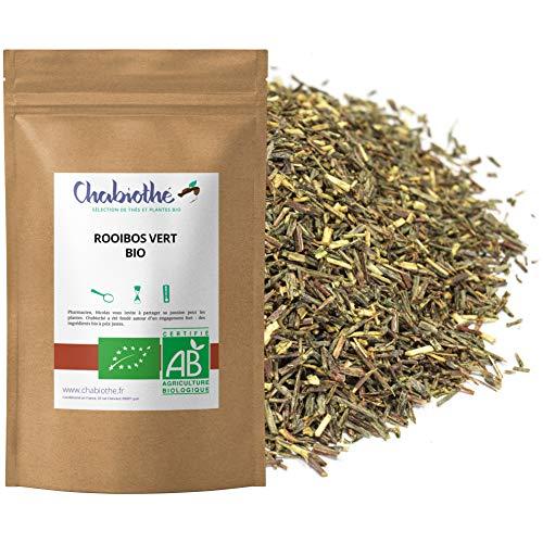 Rooibos verde BIO 200 g - sin teina y no fermentado - bolsa biodegradable