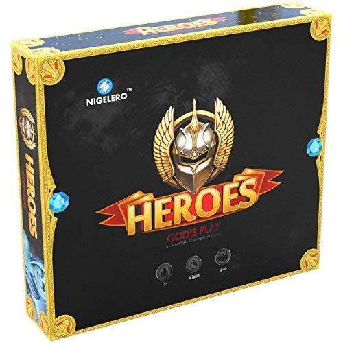 NIGELERO Heroes: God's Play Card Board Game [並行輸入品] B07SFSRB59