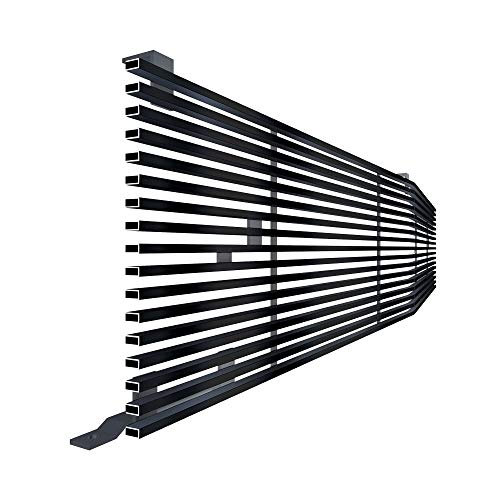 Off Roader Black Stainless Steel eGrille Billet Grille Grill for 1981-1988 Chevy C/K Pickup/Blazer