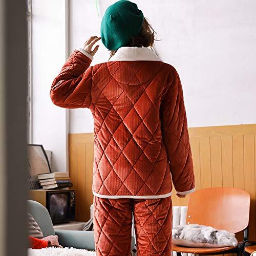 Matelassé Trois Coton Muzi Porté De L'extérieur Chaud Corail À Xl Trade Couches Home Être Peut Service Velours Pyjama Peignoir FnRPg8q