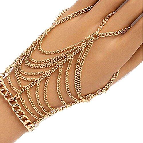 yueton Tassel Plated Harness Bracelet