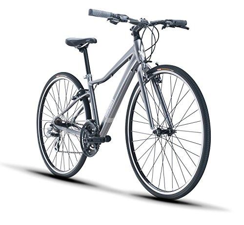 Diamondback Bicycles Clarity 1 Women's Fitness Hybrid Bike, Silver