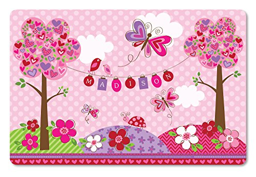 Personalized Placemat Craft Mat Valentines Day