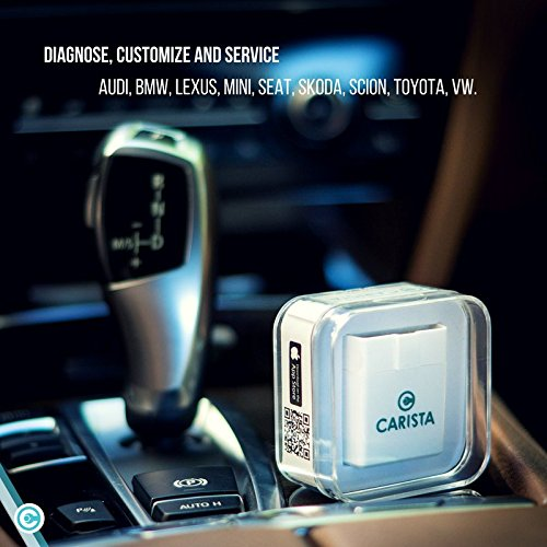 Of all the Bluetooth scanners on this list, the Carista OBD2 Adapter is perhaps the most unique.