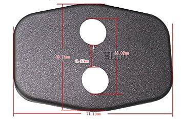 Tuqiang per P eugeot 308 508 3008 207 Citroen C4L DS3 Coperchio Serratura Porta Auto per Protezione Interna Antiruggine Coperchio Serratura