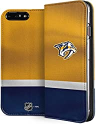 Skinit NHL Nashville Predators iPhone 7 Plus Folio Case - Nashville  Predators Alternate Jersey Design - 40f71b920