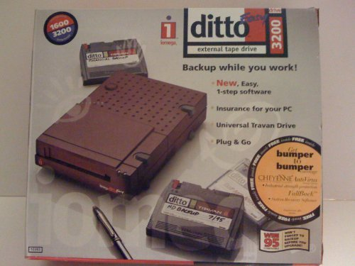 Ditto Easy 3200 Parallel Port External Tape Drive - Windows 95