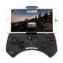 Bestdeal Wireless Bluetooth Game Controller Gamepad Joystick for Samsung Galaxy E5 & E7 & Express & Express 2 & Fame Smartphone
