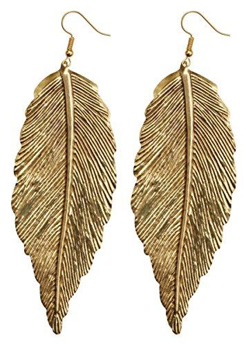 Heavy Discount - Drop Leaf Hook Earrings - Antique Earrings Set - Women Fashion Jewelry & Accessories - Gifts for - Earrings Leaf Gold