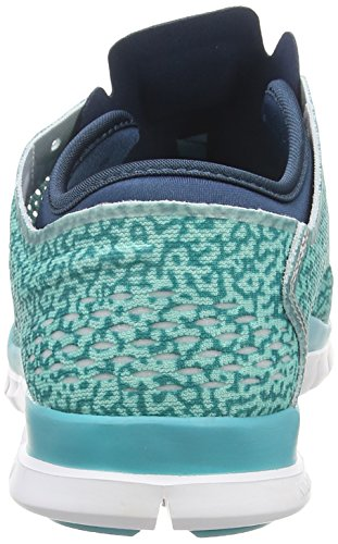 Nike Womens Free 5.0 Tr Fit 4 Stampa Hyper Turq / Dusty Cactus / Spc Bl