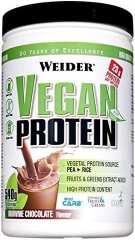 Weider Vegan Protein Vainilla 540 G 640 g: Amazon.es: Salud y ...
