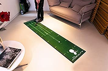 PuttOut Pro Golf Putting Mat – Perfect Your Putting 7.87-feet x 1.64-feet