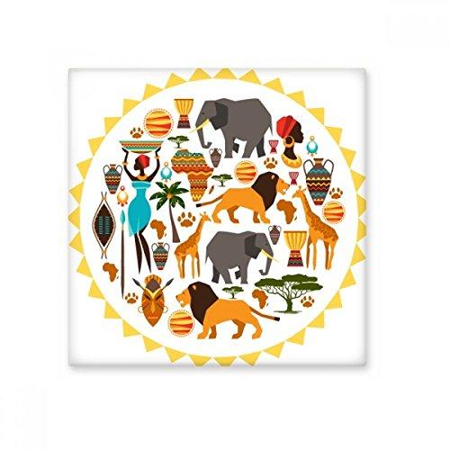 Africa Wild Animals Wildlife African Savanna Lion Ceramic Bisque Tiles Bathroom Decor Kitchen Ceramic Tiles Wall Tiles