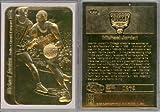 1986 MICHAEL JORDAN FLEER STICKER ROOKIE 23K GOLD CARD by Basketball