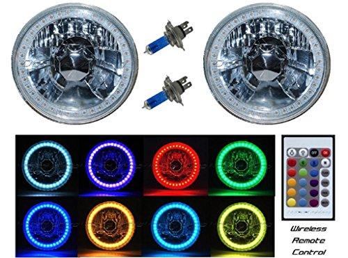 5 3/4 White Led Halo Halogen Light Bulb Headlight in US - 3