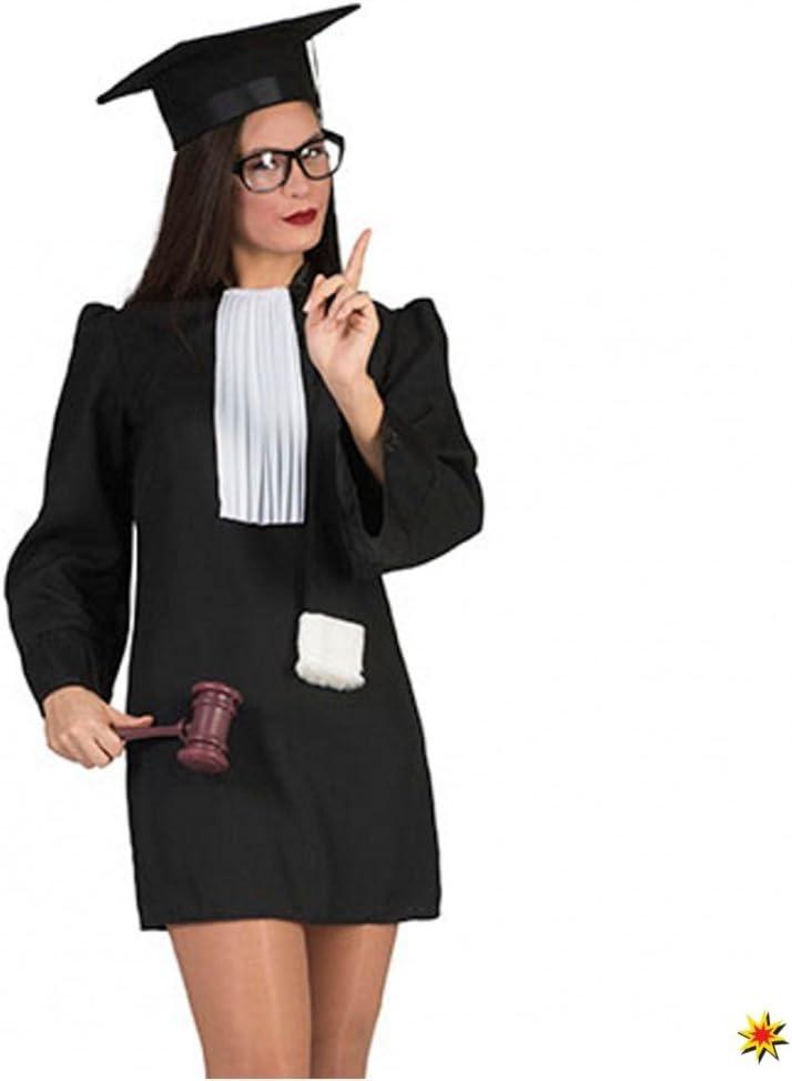 Krause & Juez de disfraz de Sohn 32-46 túnica negra: Amazon.es ...