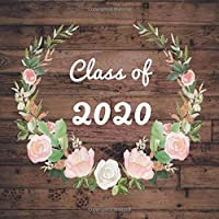 Class of 2020: Rustic Graduation Guestbook for  Graduates Parties Guests  Signing in  Memory guestbook  Blank Photo Pages  Gift Log Tracker Perfect ... (Graduation Party Guest Book Class Of 2020)