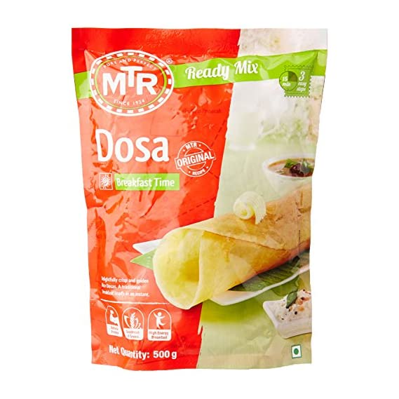 MTR Instant Breakfast Mix - Dosa, 500g