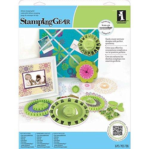 Price comparison product image Inkadinkado Stamping Gear,  Deluxe Set
