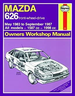 mazda 626 owners workshop manual service repair manuals larry rh amazon com Mazda 626 Engines Cyl Heads Specifications Mazda 626 Engine Diagram