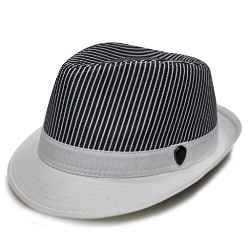 352ce08651f City Hunter Pmt510 2 Tone Denim Stripe Fedora Hats-Navy-S/m Size - Buy  Online in Oman. | Apparel Products in Oman - See Prices, Reviews and Free  Delivery in ...