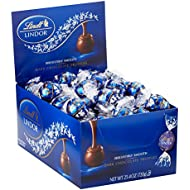 Lindt LINDOR Dark Chocolate Truffles, Kosher, 60 Count Box, 25.4 Ounce