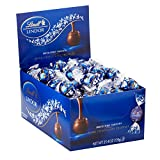Lindt LINDOR Dark Chocolate Truffles, 60 Count Box,25.4 oz