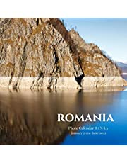 Romania Photo Calendar January 2021 - June 2022: 18 Monthly Mini 8.5 X 8.5 Picture Book  Cute 2020-2021 Year Blank At A Glance Colorful Desk Page Planner  2 Years Yearly Overview Large 18 Months Engagement  Country Nature Art Landscape Theme
