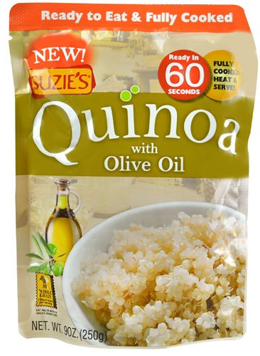 Suzie'S Quinoa Ready-To-Eat & Fully Cooked Olive Oil, 9 Ounce (Pack of 24) by Suzie's