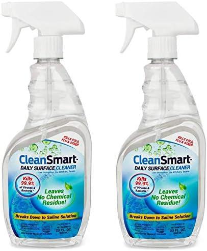 [해외]CleanSmart 욕실 일일 표면 클리너 23온스 스프레이 (2 팩) 박테리아 바이러스 세균 곰팡이 곰팡이 곰팡이 및 곰팡이 / CleanSmart 욕실 일일 표면 클리너 23온스 스프레이 (2 팩) 박테리아 바이러스 세균 곰팡이 곰팡이 곰팡이 및 곰팡이