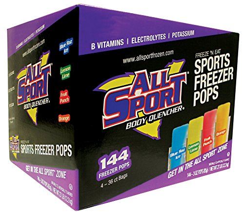 Cheap All Sport | Hydration Freezer Pops | Variety Pack | 3 Ounce (Pack of 144)