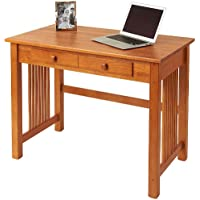 Manchester Wood Mission Desk - Golden Oak