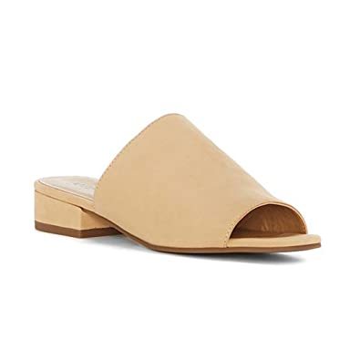 Lucky Brand Womens florent Leather Open Toe Mules