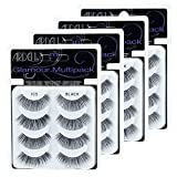 Ardell Multi Pack 105, 4 prs Glamour False Lashes x 4 pack (16 pairs Faux Lashes)
