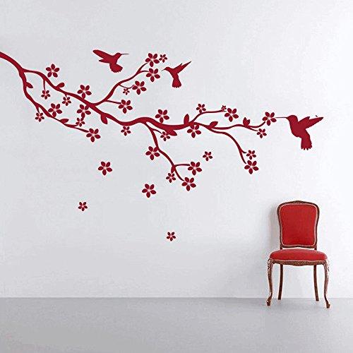 dreamkraft Bird Nature壁装飾アートステッカービニールデカールホームデコレーションリビングルーム&キッズ寝室(37のX 19インチ) B07C7TVZ4C