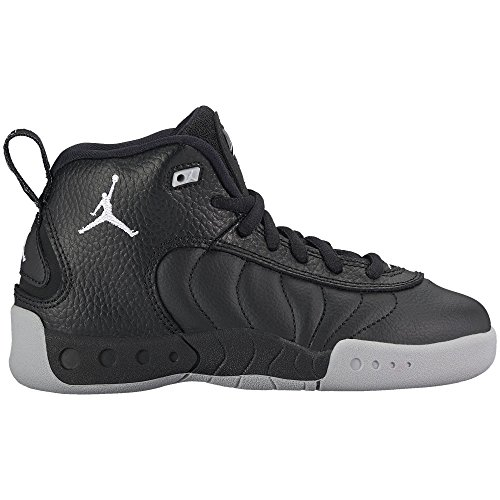 Jordan Jumpman Pro BP Little Kid's Shoes Black/White/Wolf Grey 909419-022 (11.5 Kids C US) by Jordan