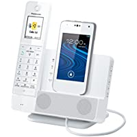 Link2Cell KX-PRD260W Digital Phone with Smartphone Integration and Answering Machine