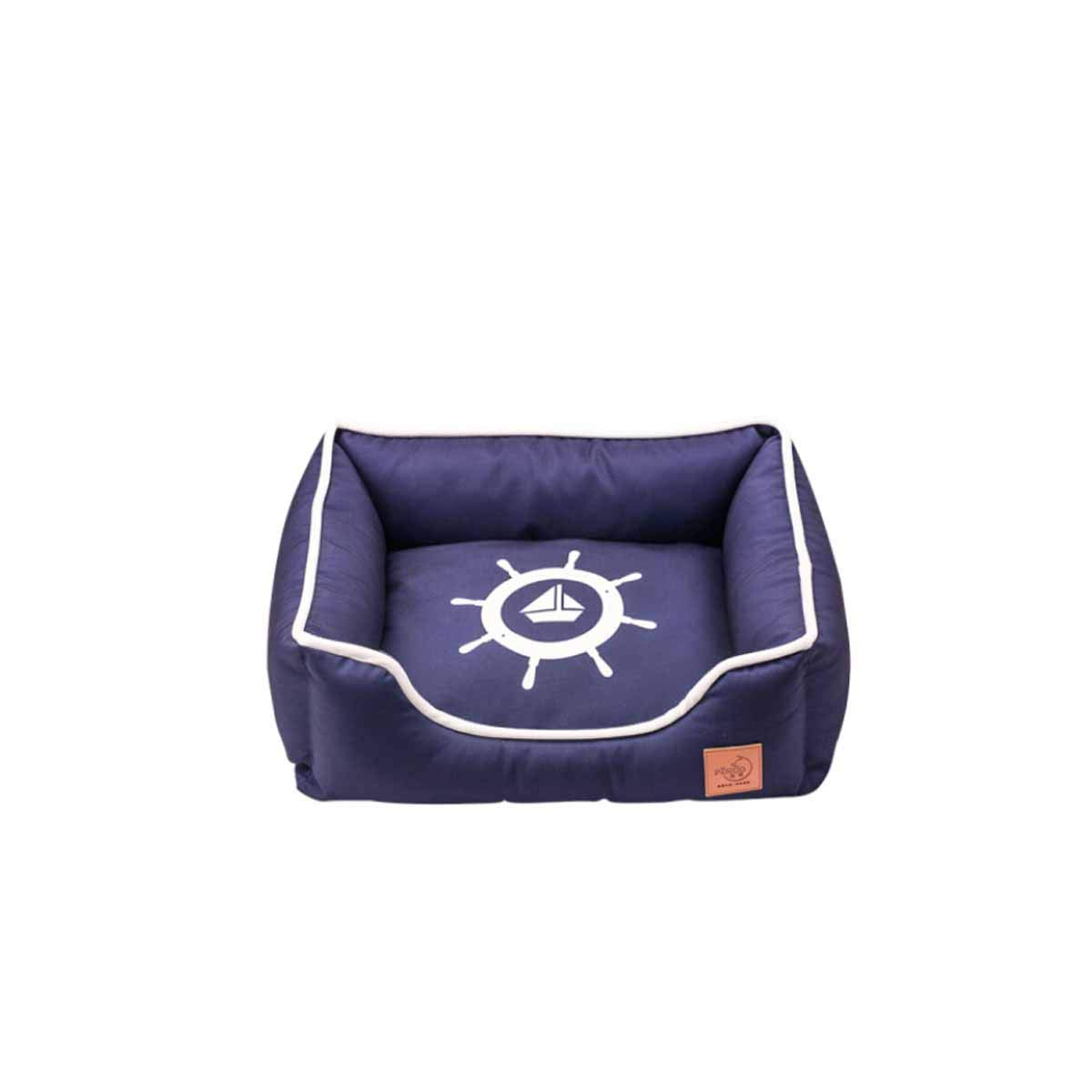 M Muziwenju Pet Kennel, Cat Litter, Removable And Washable, Teddy Bomei, Small Dog Four Seasons Available Nest, Dog Bed, Rudder (Size   M)