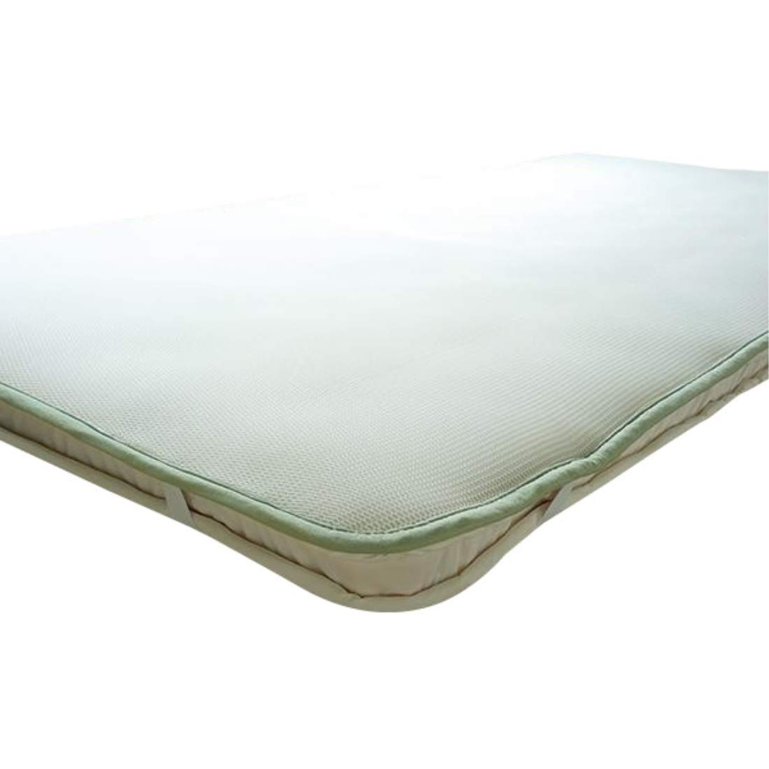 日用品 寝装 寝具 関連商品 スリープエアーマット(ジャパンプレミアム) シングル 100×200cm フュージョン白182830 B076B56C8Q